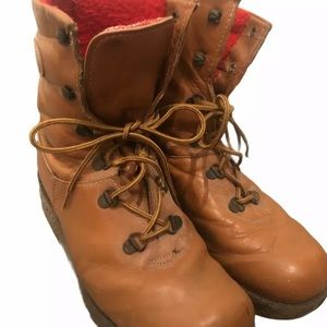 1980's Cougar Boots Canada Men's 10 Caramel Red
